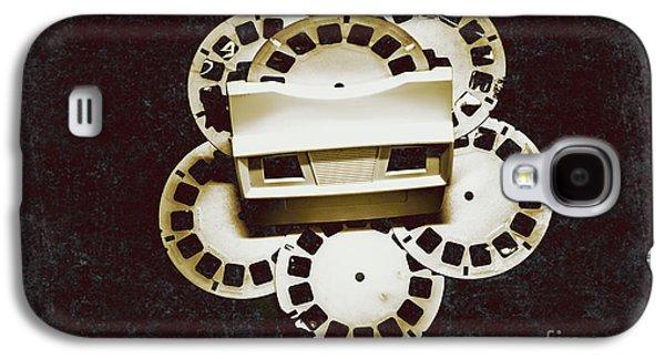 Vintage Film Toy Galaxy S4 Case