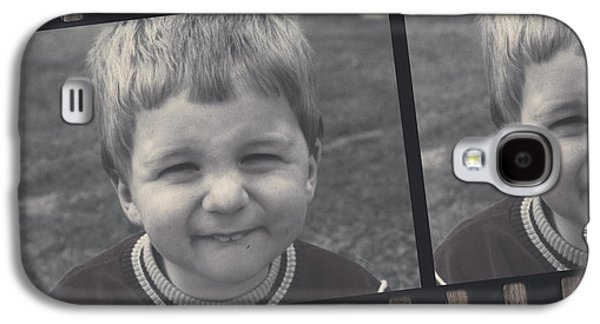 Vintage Filmstrip Boy Smiling For The Camera Galaxy S4 Case by Jorgo Photography - Wall Art Gallery