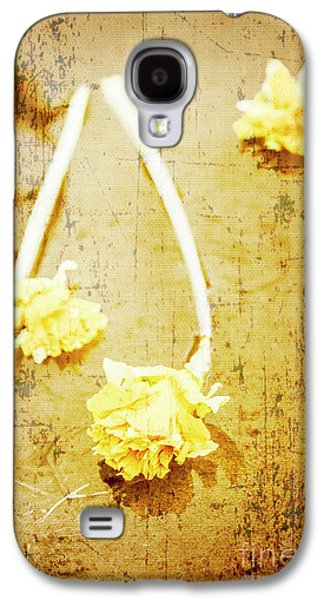 Vintage Floating River Flowers Galaxy S4 Case by Jorgo Photography - Wall Art Gallery