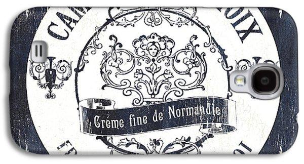 Vintage French Cheese Label 3 Galaxy S4 Case by Debbie DeWitt