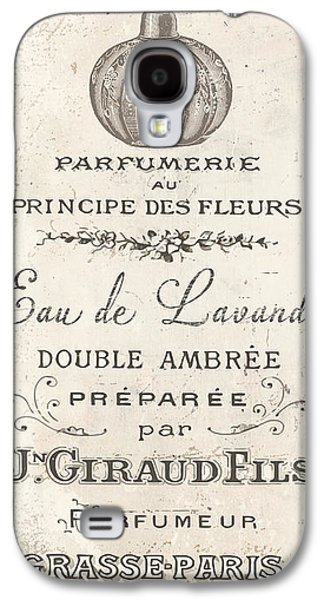Vintage French Perfume Sign Galaxy S4 Case by Mindy Sommers