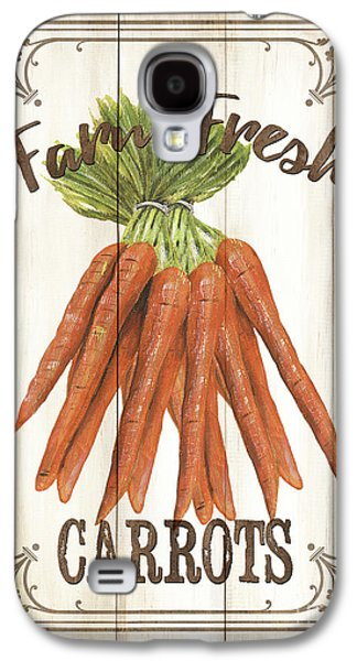 Vintage Fresh Vegetables 3 Galaxy S4 Case by Debbie DeWitt
