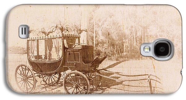 Vintage Funeral Hearse Galaxy S4 Case by Jorgo Photography - Wall Art Gallery