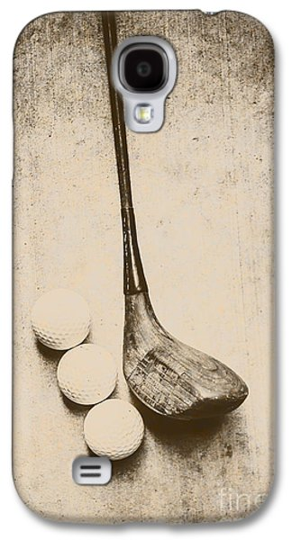 Vintage Golf Artwork Galaxy S4 Case by Jorgo Photography - Wall Art Gallery