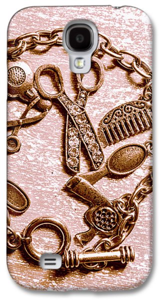 Vintage Hairdressing Charm Galaxy S4 Case by Jorgo Photography - Wall Art Gallery