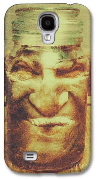 Vintage Halloween Horror Jar Galaxy S4 Case by Jorgo Photography - Wall Art Gallery