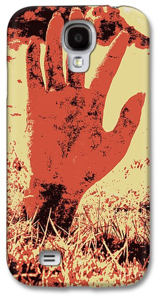 Vintage Horror Poster Art  Galaxy S4 Case by Jorgo Photography - Wall Art Gallery