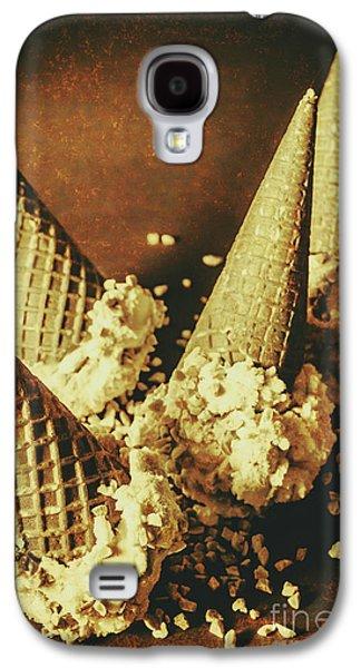 Vintage Ice Cream Cones Still Life Galaxy S4 Case by Jorgo Photography - Wall Art Gallery