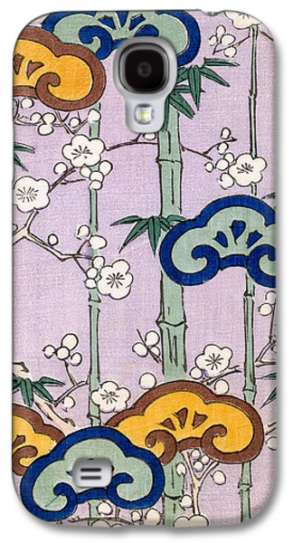 Vintage Japanese Illustration Of Bamboo And Blossom Galaxy S4 Case