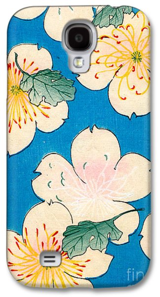 Vintage Japanese Illustration Of Dogwood Blossoms Galaxy S4 Case by Japanese School