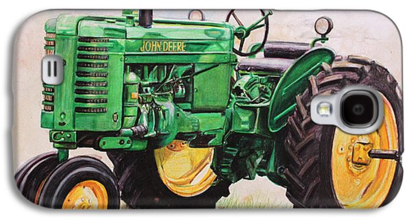 Tractors Galaxy S4 Case - Vintage John Deere Tractor by Toni Grote