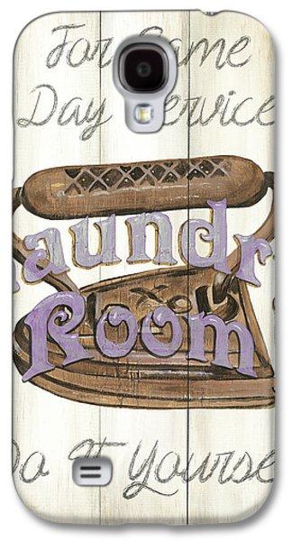 Vintage Laundry Room 1 Galaxy S4 Case by Debbie DeWitt