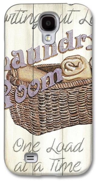Vintage Laundry Room 2 Galaxy S4 Case by Debbie DeWitt