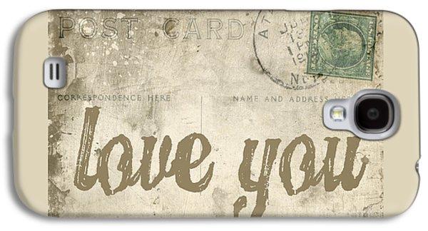 Vintage Love Letters Galaxy S4 Case