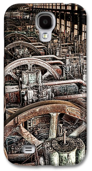 Vintage Machinery Galaxy S4 Case by Olivier Le Queinec