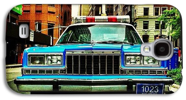 Summer Galaxy S4 Case - Vintage Nypd. #car #nypd #nyc by Luke Kingma