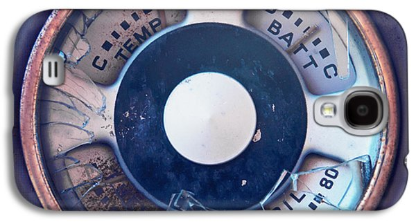 Temperature Galaxy S4 Cases - Vintage Oil Indicator Galaxy S4 Case by Priska Wettstein