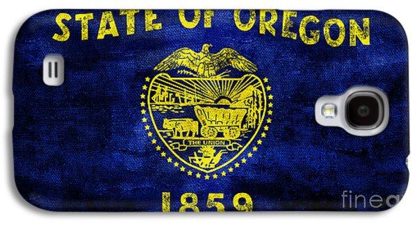Vintage Oregon Flag Galaxy S4 Case