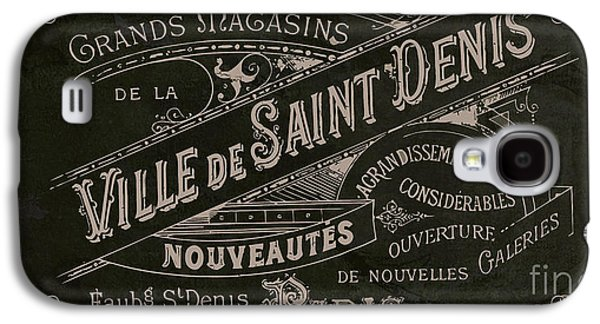 Vintage Paris Sign Galaxy S4 Case by Mindy Sommers