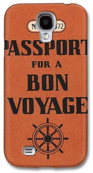 Travel Galaxy S4 Case - Vintage Passport by Gillham Studios