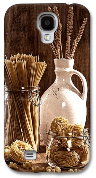 Vintage Pasta  Galaxy S4 Case by Amanda Elwell