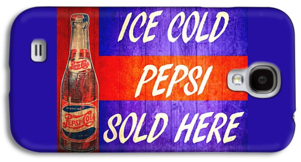 Vintage Pepsi Cola Barn Door Galaxy S4 Case by Dan Sproul