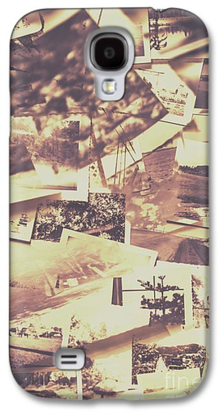 Vintage Photo Design Abstract Background Galaxy S4 Case by Jorgo Photography - Wall Art Gallery