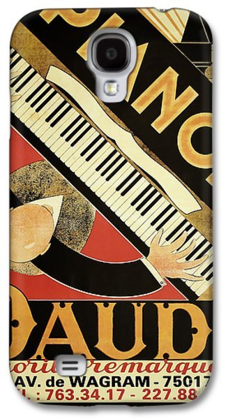 Vintage Piano Art Deco Galaxy S4 Case by Mindy Sommers