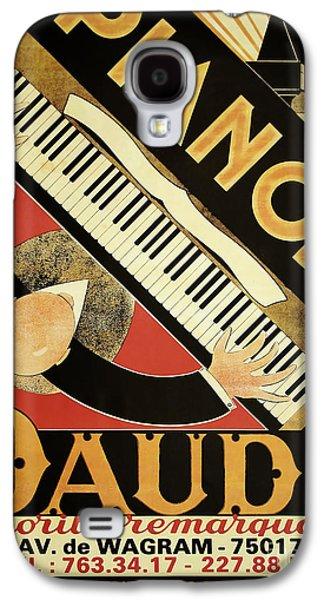 Vintage Piano Art Deco Galaxy S4 Case