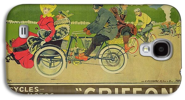 Vintage Poster Bicycle Advertisement Galaxy S4 Case