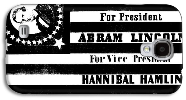 Vintage Presidential Campaign Flag Of Abraham Lincoln For President Galaxy S4 Case