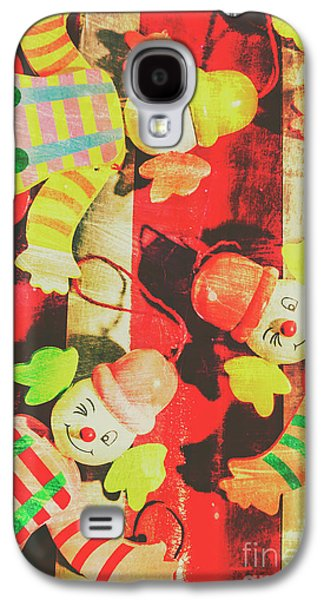 Galaxy S4 Case featuring the photograph Vintage Pull String Puppets by Jorgo Photography - Wall Art Gallery