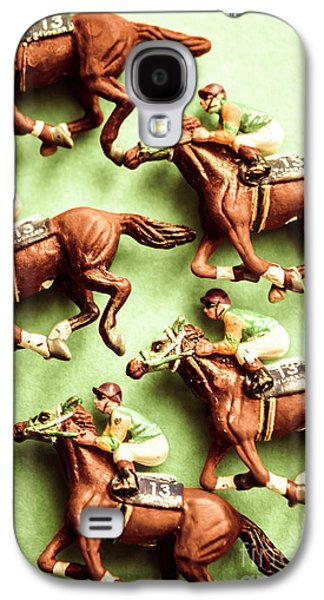 Vintage Racehorse Art Galaxy S4 Case by Jorgo Photography - Wall Art Gallery