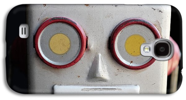 Vintage Robot Square Galaxy S4 Case
