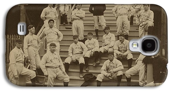 Vintage Saint Louis Baseball Team Photo Galaxy S4 Case by American School