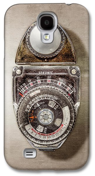 Vintage Sekonic Deluxe Light Meter Galaxy S4 Case by YoPedro