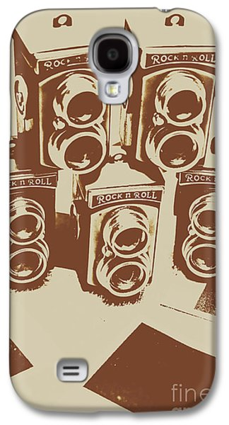 Vintage Snapshots And Old Cameras Galaxy S4 Case by Jorgo Photography - Wall Art Gallery