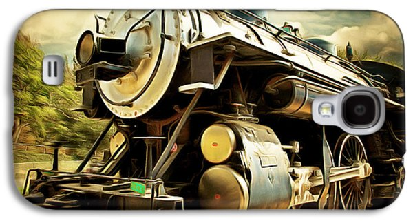 Vintage Steam Locomotive 5d29110brun Galaxy S4 Case