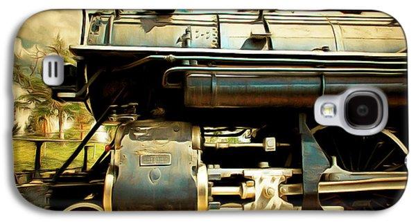 Vintage Steam Locomotive 5d29112brun Galaxy S4 Case