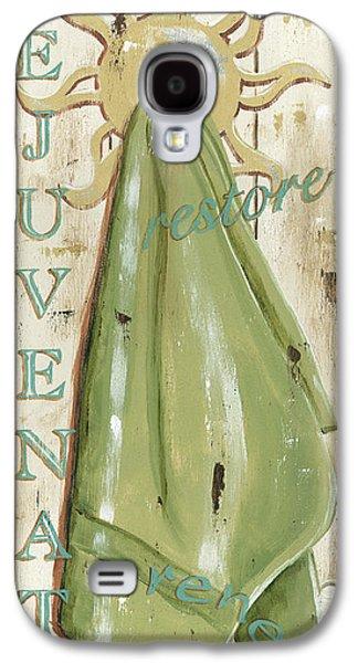 Vintage Sun Beach 1 Galaxy S4 Case by Debbie DeWitt