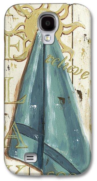 Vintage Sun Beach 2 Galaxy S4 Case by Debbie DeWitt