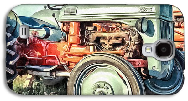 Vintage Tractors Pei Square Galaxy S4 Case