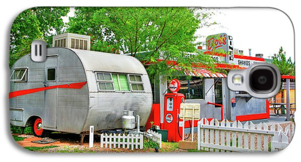 Vintage Trailer And Diner In Bisbee Arizona Galaxy S4 Case