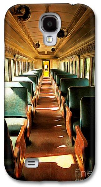 Vintage Train Passenger Car 5d28307brun Galaxy S4 Case