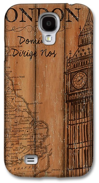 Vintage Travel London Galaxy S4 Case by Debbie DeWitt