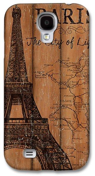 Vintage Travel Paris Galaxy S4 Case by Debbie DeWitt