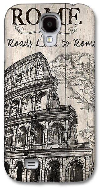 Vintage Travel Poster Galaxy S4 Case by Debbie DeWitt