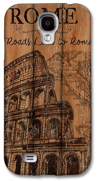Vintage Travel Rome Galaxy S4 Case