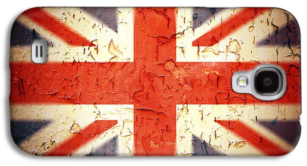 Nation Galaxy S4 Cases - Vintage Union Jack Galaxy S4 Case by Jane Rix