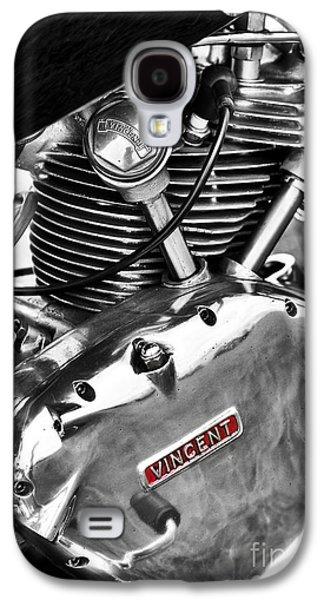 Vintage Vincent Comet Engine Galaxy S4 Case